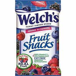 Welch's Fruit Snack Berries n' Cherries