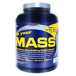 MHP Up your Mass Weight Gainer Vanilla 4lb