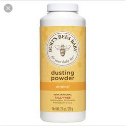burts bees baby powder