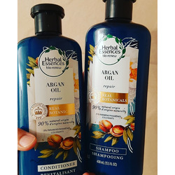 Herbal essence bio renew repair shampoo with argan oil
