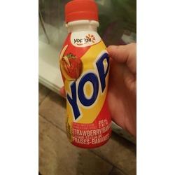 Yoplait Yop Yogurt Drink - Strawberry Banana