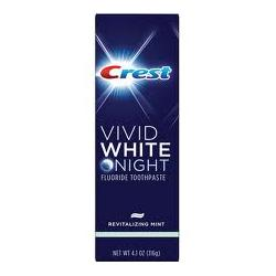 Crest Vivid White Night Striped Toothpaste