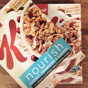 Special K Nourish® Coconut Cranberry Almond Cereal