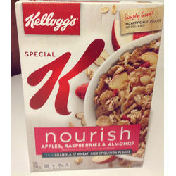 Special K Nourish Apple Raspberry Almond Cereal