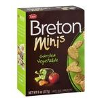 Breton Minis Bite-Size Crackers Garden Vegetables