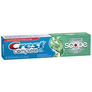 Crest Whitening Plus Scope Striped Toothpaste