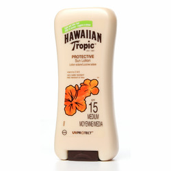 Crème solaire  hawaiien topic