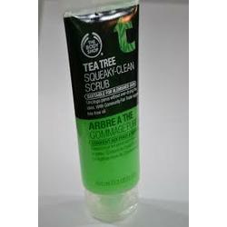 The Body Shop tea tree oil face scrub