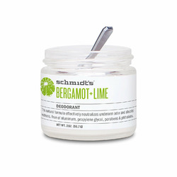 Schmidt's Deodorant - Bergamot and Lime
