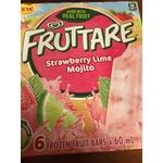 Fruttare Strawberry Lime Mojito Frozen Fruit Bars