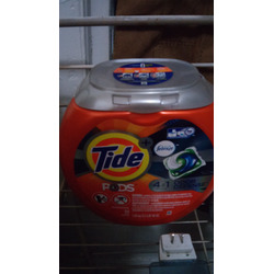 tide pods 4in1 + febreze