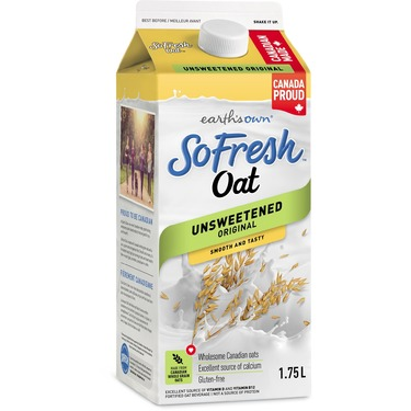 Earth's Own SoFresh Oat Unsweetened Original