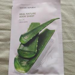 nature republic aloe face mask