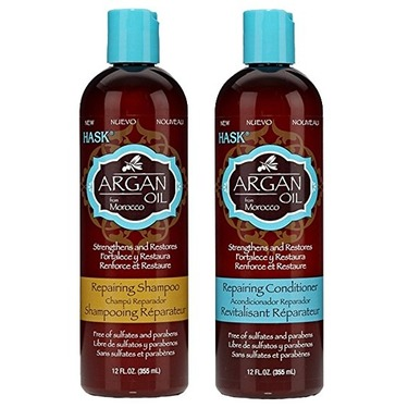 Hask Argan Oil Shampoo and Conditioner