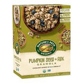 Nature's Path organic pumpkin seed and flax granola
