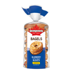 Dempster's Blueberry Bagels