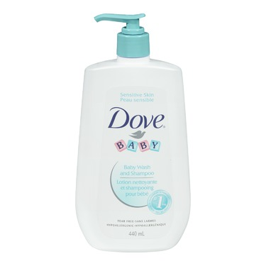 Dove Baby Sensitive Skin & Tear Free Wash & Shampoo