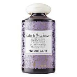 Origins Calm To Your Senses Lavender and Vanilla Oil for Bath & Body