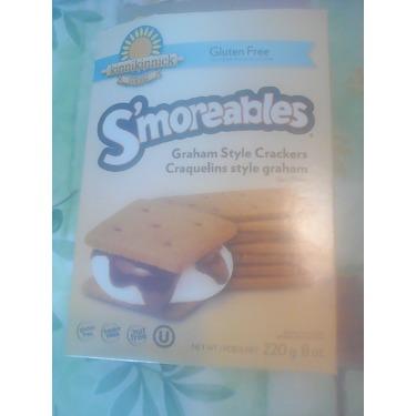 Kinnikinnck smoreables gluten free Graham style crackers