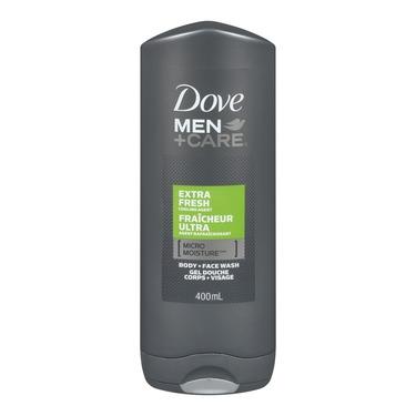 Dove Men + Care Extra Fresh Micro Moisture Body + Facewash