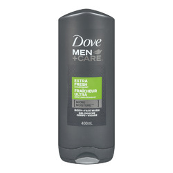 Dove Men +Care Extra Fresh Micro Moisture Body + Facewash