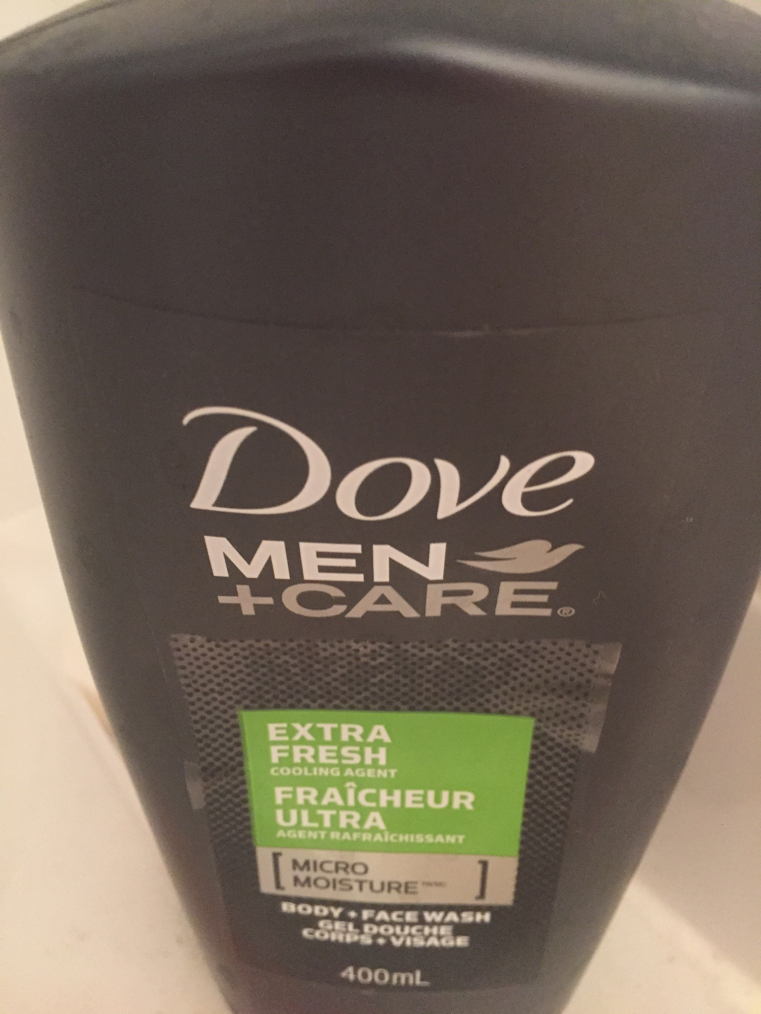 Dove Men Care Extra Fresh Micro Moisture Body Facewash