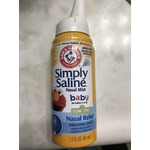 Arm and Hammer Simple Saline Nasal Mist for Babies