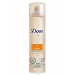 Dove Shine Therapy Shine & Hold Aerosol Hairspray