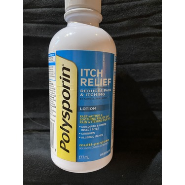 Polysporin Itch Relief Clear & Cooling Lotion