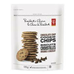 Presidents Choice Chocolate Chip Cookie Chips