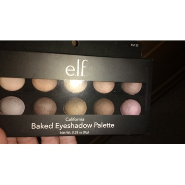 e.l.f. Cosmetics Baked Eyeshadow Palette in California