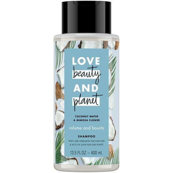 love beauty  u0026 planet coconut water  u0026 mimosa flower volume and bounty shampoo reviews in shampoo