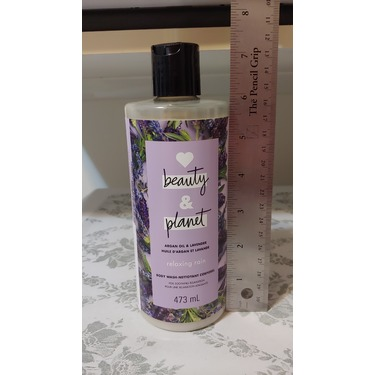 Love Beauty & Planet Argan Oil & Lavender Relaxing Rain Body Wash