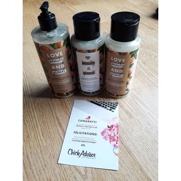 Love Beauty & Planet Murumuru Butter & Rose Blooming Colour Conditioner