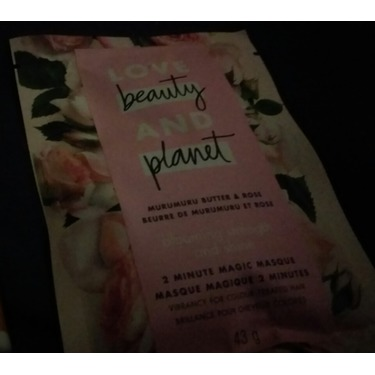 Love Beauty & Planet Murumuru Butter & Rose Blooming Strength and Shine 2 Minute Magic Masque