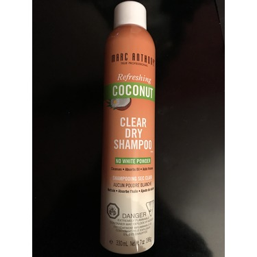 Marc Anthony Refreshing Coconut Clear Dry Shampoo