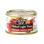 Clover Leaf Flaked Light Tuna Sundried Tomato &Basil;