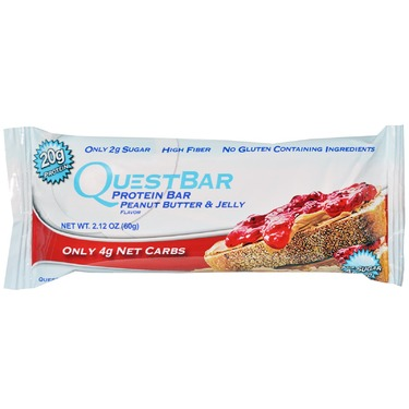 Quest Protein Bar Peanut Butter and Jelly