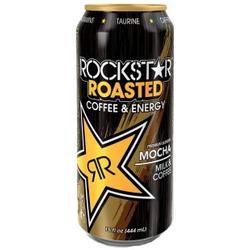 rockstar roasted coffee & energy mocha