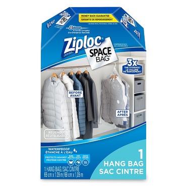 Ziploc Space Bag Hanging