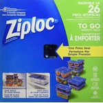 Ziploc Containers Mixed, 26-Count