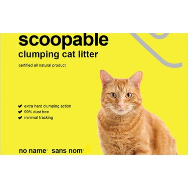 No Name Clumping Cat Litter Unscented