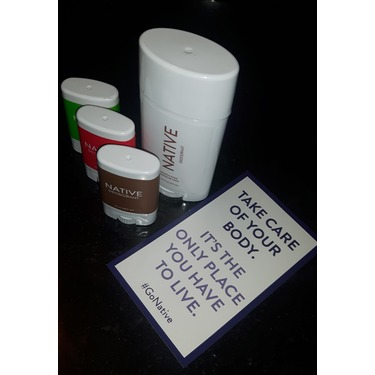 Native Coconut and Vanilla Deodorant