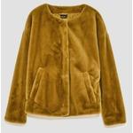 Zara Faux Fur Jacket; Pistachio