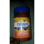 Zicam Cold Remedy Medicated Fruit Drops
