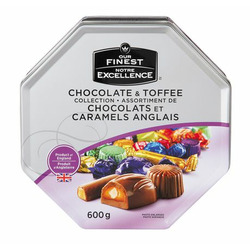 Our Finest Chocolate & Toffee Collection Tin
