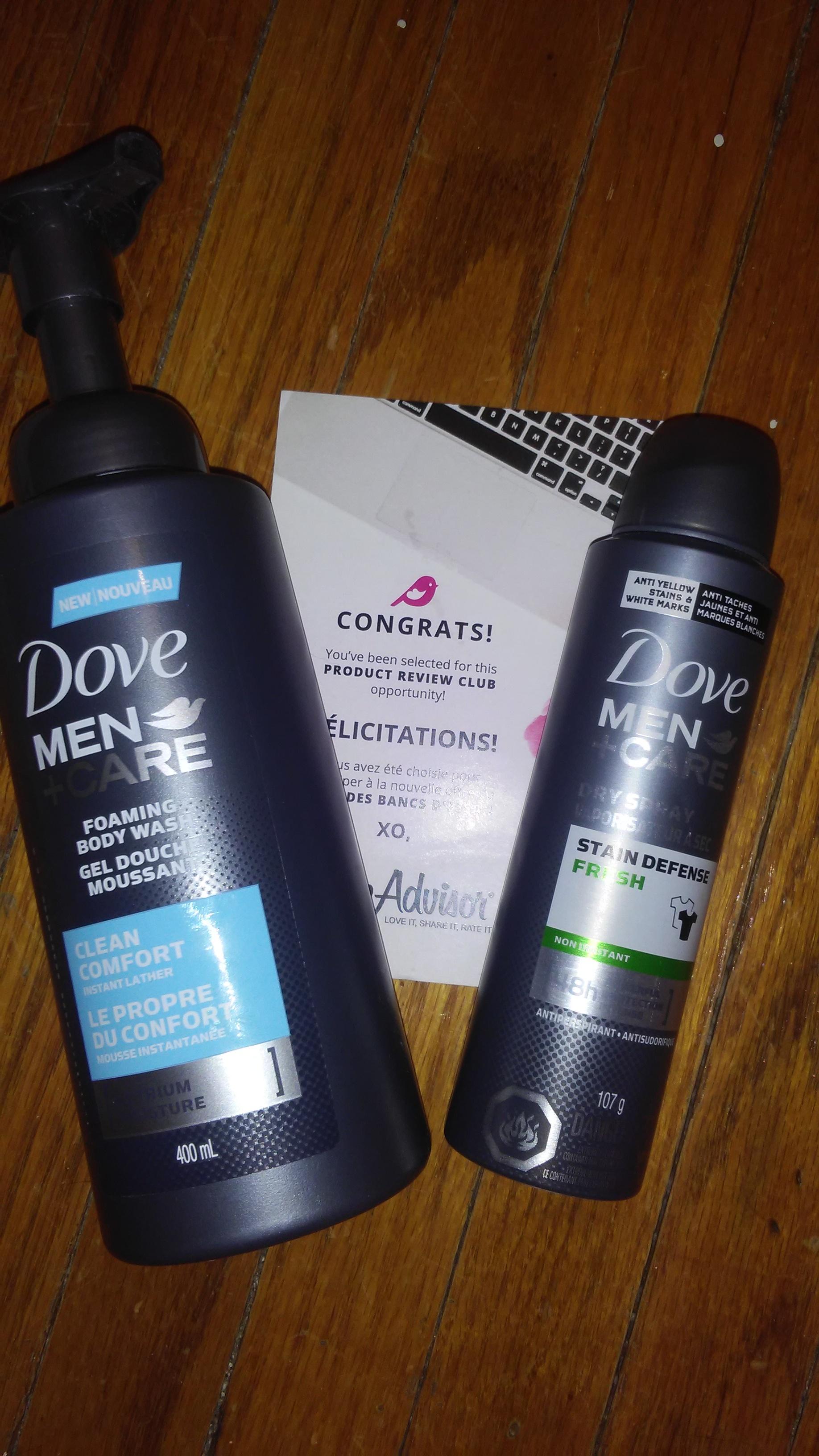 Dove Men Care Clean Comfort Foaming Body Wash Reviews In Men S Body Wash Chickadvisor