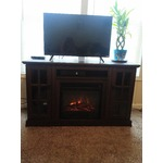 Twin-Star Entertainment Center with Fireplace