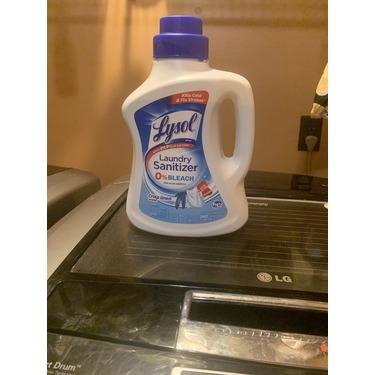 Lysol laundry sanitizer