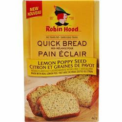 ROBIN HOOD QUICK BREAD MIX - LEMON POPPY SEED